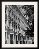 Terraced Houses London II Print by John Gay