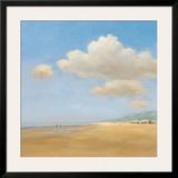 Strandwandeling Art by Jan Groenhart