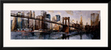 Going to the City Framed Giclee Print by Marti Bofarull