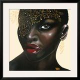 Ebony Posters by Sandra Knuyt