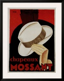 Chapeaux Mossant Poster by  Olsky