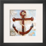 Anchors Away Posters by Gina Ritter
