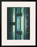 Messehochhaus Frankfurt, c.1999 Posters by Oswald Mathias Ungers