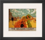 Belgian Coast Posters by Eric Michaels