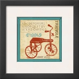 Vintage Tricycle Prints by Jo Moulton