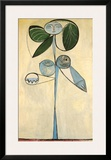 Woman/flower 1946 Framed Giclee Print by Pablo Picasso