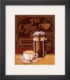 Cafe Mundo IV Print by Charlene Audrey