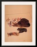 Stilleben mit Hut Art by Bruno Bruni