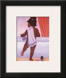 Bubble Bath Girl Posters by Stanley Morgan
