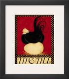Menu II Posters by Dan Dipaolo
