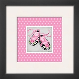 Wild Child Ballet Slippers Prints by Kathy Middlebrook