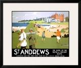 LNER, St. Andrews, c.1920 Framed Giclee Print by Henry George Gawthorn