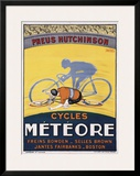Cycles Meteore Framed Giclee Print by Georges Faivre