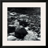 Mountain Stream Poster by Ansel Adams