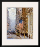 Flags on the Waldorf Posters by Childe Hassam