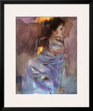 Odalisque en Vert Prints by Christine Comyn