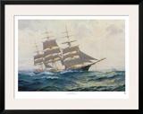 Toward Far Horizons, Ship Triumphant Posters by Frank Vining Smith