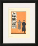 Give & Take Print by D. Whitelaw