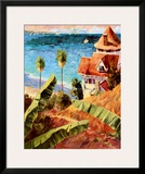 Catalina Print by Michael Hallinan