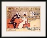 Grandes Salones y Academia de Billar Framed Giclee Print by Antoni Utrillo