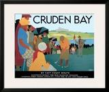 LNER, Cruden Bay, c.1930 Framed Giclee Print by Tom Purvis