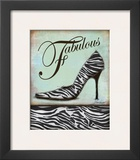 Zebra Shoe Print by Todd Williams