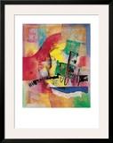 Farbsinfonie I Art by Ernst-peter Rade