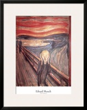 The Scream, c.1893 Prints by Edvard Munch