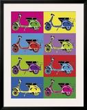 Vesparama Prints by Myrjam Tell