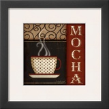 Mocha Prints by Jennifer Pugh