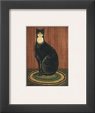 Black Cat with Bib Prints by Warren Kimble