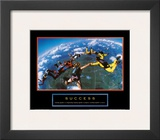 Success: Skydivers Poster