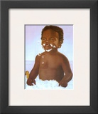 Bubble Bath Boy Prints by Stanley Morgan