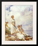 Summer Clouds, 1917 Print by Charles Courtney Curran