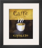 Caffe Espresso Posters by Anthony Morrow