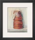 Terracotta Pots Prints by Carol Rowan