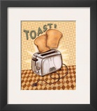 Nifty Fifties, Toast Prints by Charlene Audrey