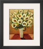 Calla Lily Bouquet Poster by Shelly Bartek