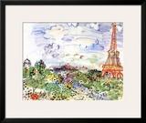La Tour Eiffel, c.1935 Posters by Raoul Dufy