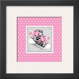 Wild Child High Tops Poster by Kathy Middlebrook