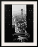 Manhattan at Night Prints