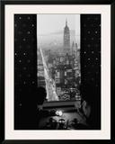 Manhattan at Night Prints