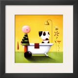 Bathtime Prints by Jo Parry