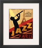 Jazz in Paris, 1970 Prints by Conrad Knutsen