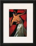 Carmine Cafe Prints by Bill Brauer