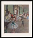 Classe de Danse Poster by Edgar Degas