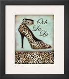 Leopard Shoe Prints by Todd Williams