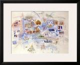 Paris 14 Juillet Prints by Raoul Dufy