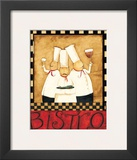 Three Chefs Wine Bistro II Prints by Dan Dipaolo