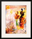 Hallucinogenic Toreador Framed Giclee Print by Salvador Dalí